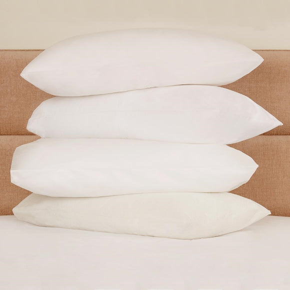 Click N Order photo of a Mitre Essentials Polypropylene Pillow Protector White