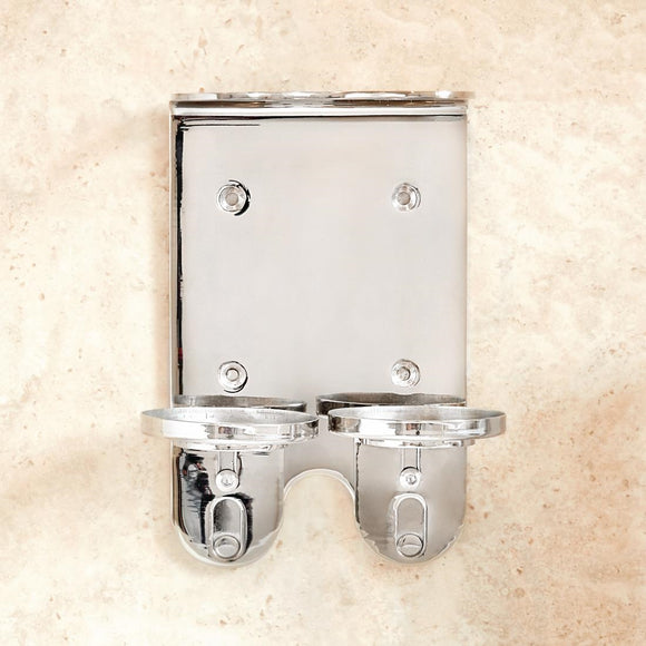 Click N Order photo of a Envoque Double Stainless Steel Wall Bracket 300ml