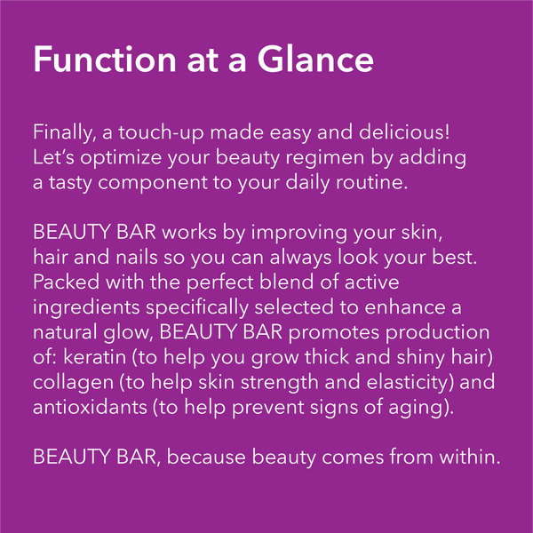 BEAUTY BAR - Collagen Protein Bar - WTF BAR