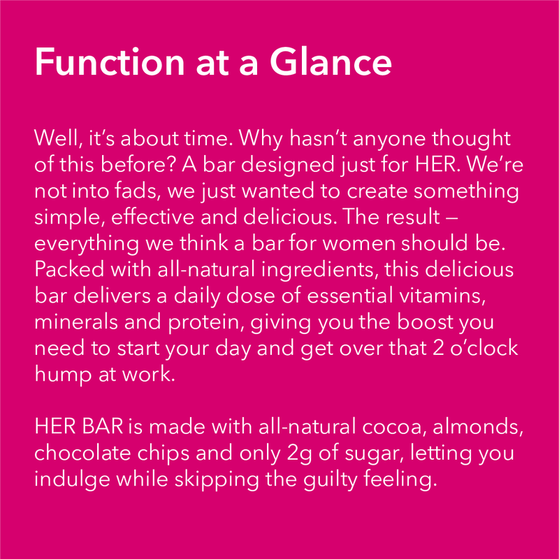 HER BAR - Multivitamin & Protein Bar - WTF Bar