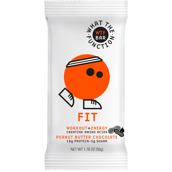 FIT BAR - Pre-Workout Protein Bar - WTF BAR