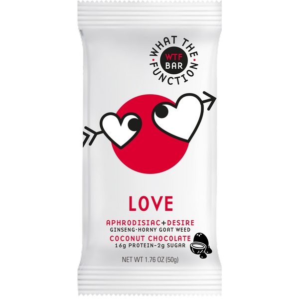 LOVE BAR - Aphrodisiac Protein Bar - WTF Bar