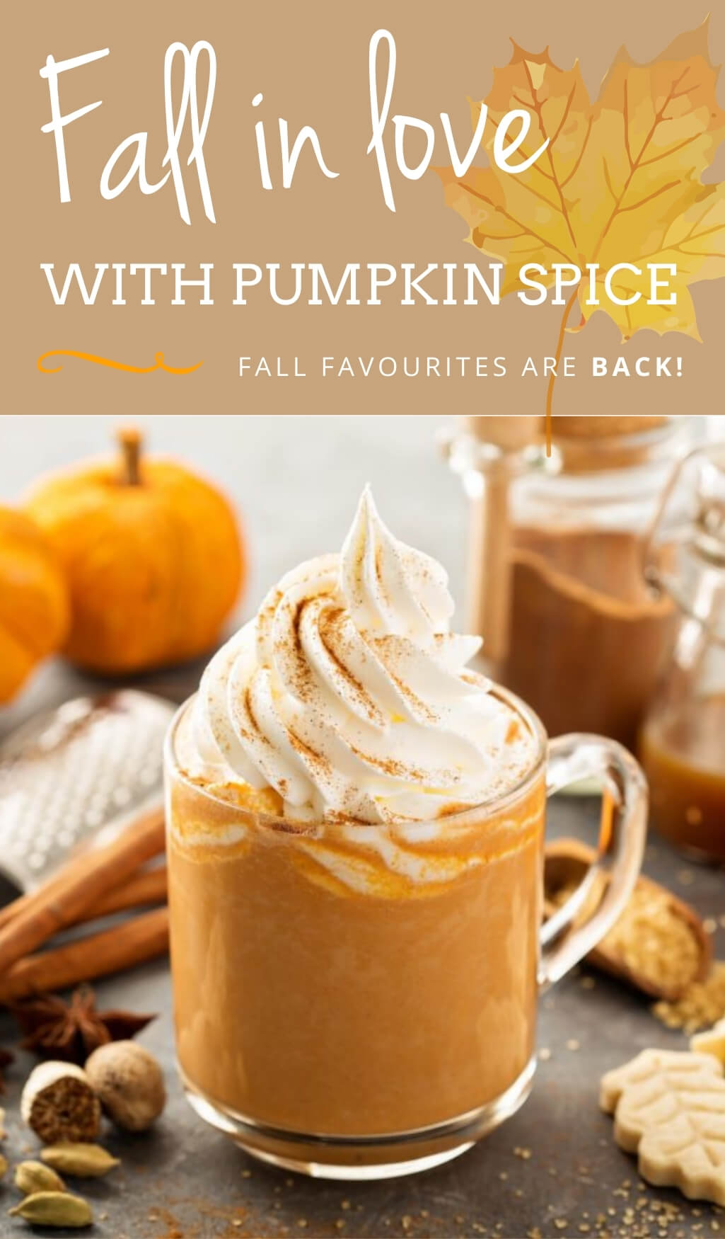 Fall in Love with Pumpkin Spice