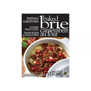 Sun-dried Tomato Brie Topping - Gourmet Du Village