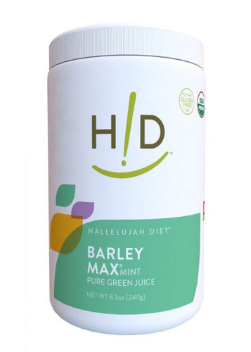 BarleyMax Mint (120 servings) - Laird Wellness
