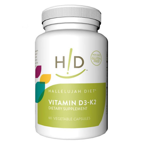 Vitamin D3 with K2 - (60 servings) - Laird Wellness
