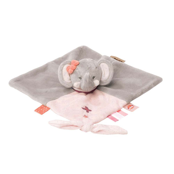 Nattou Adele & Valentine Collection - Doudou Comforter Adele The Elephant