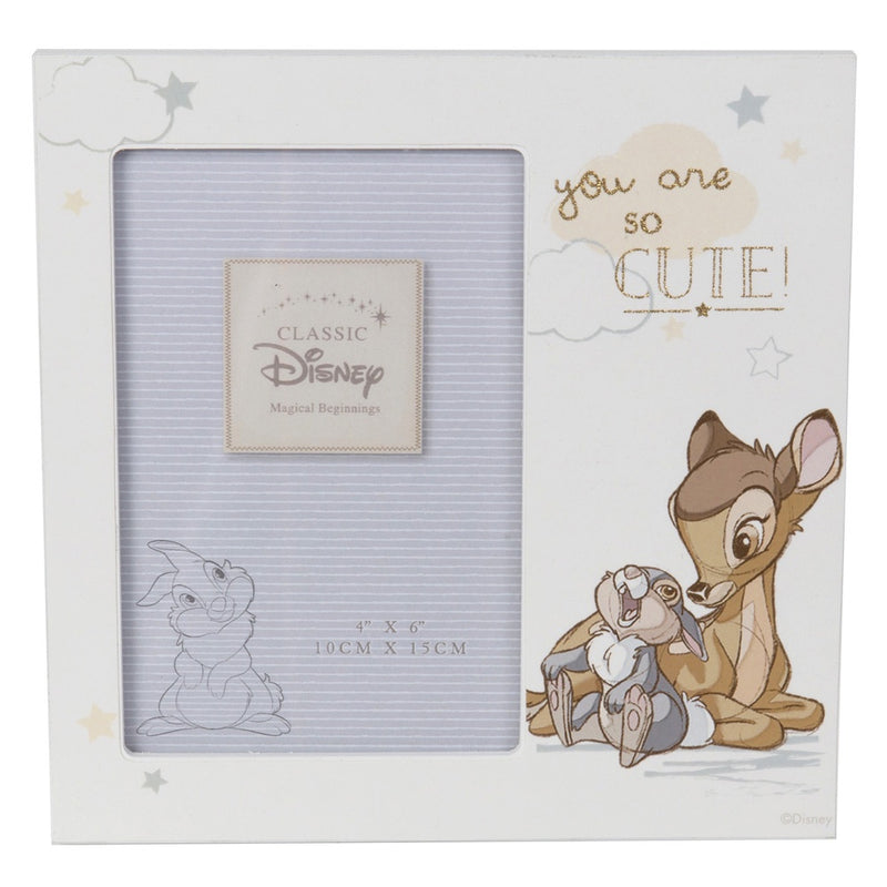 Bambi 4 x 6 Frame - You are so Cute