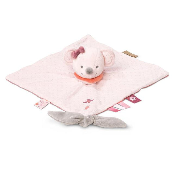 Nattou Adele & Valentine Collection - Doudou Comforter Valentine The Mouse