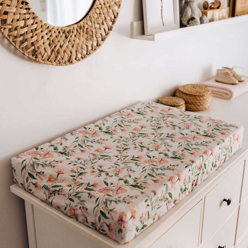 Wattle Bassinet Sheet / Change Pad Cover