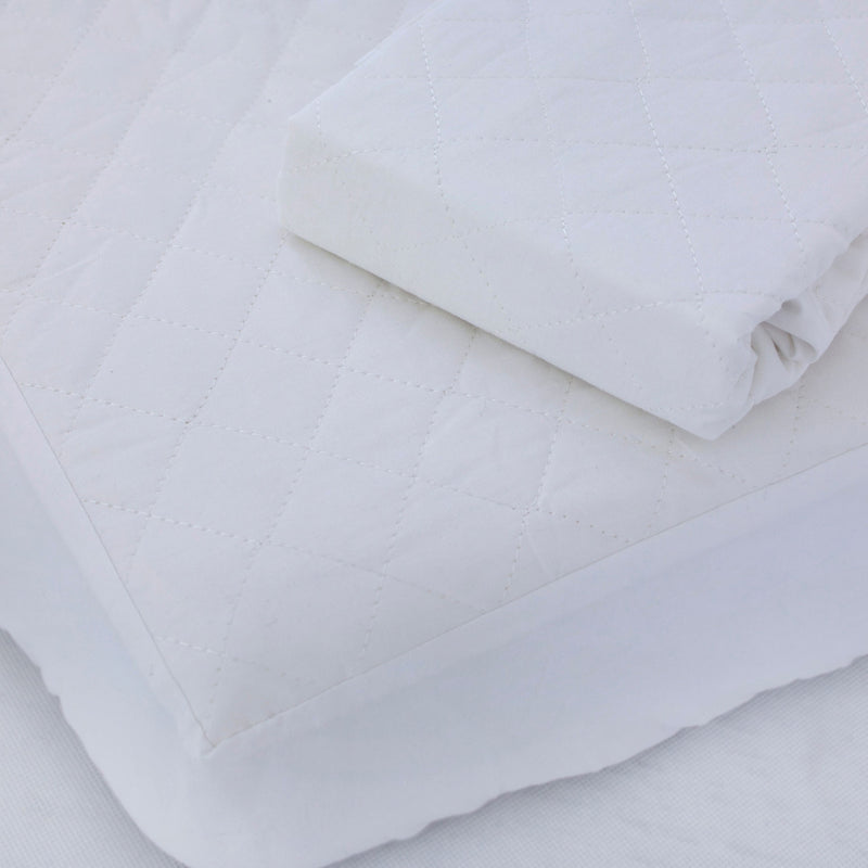 Breathe Easy® Standard Cot Waterproof Quilted Mattress Protector