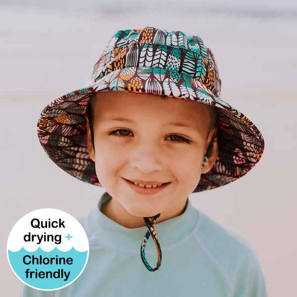 Kids Beach Hat Bucket - Surfboard