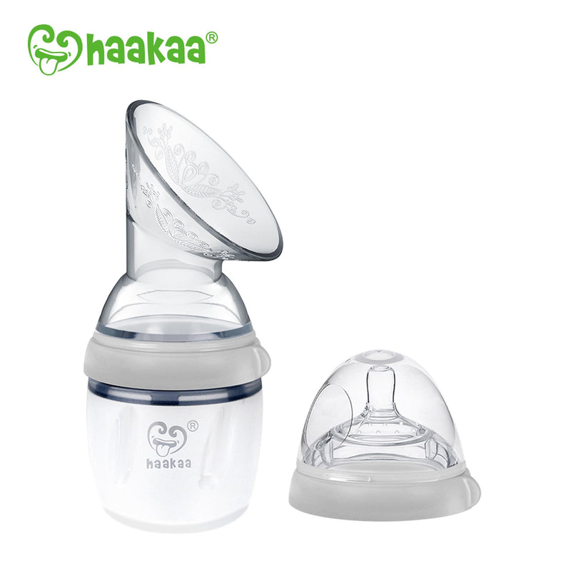Haakaa Gen 3 Silicone Breast Pump & 160ml Bottle Combo