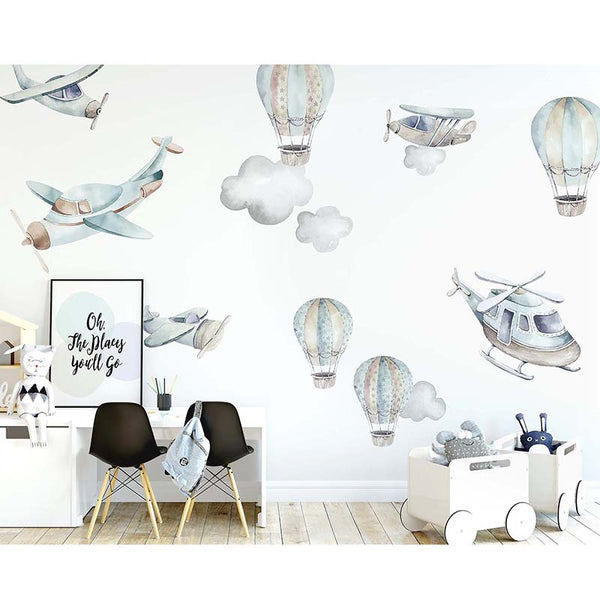 Flying High Wall Decal Set