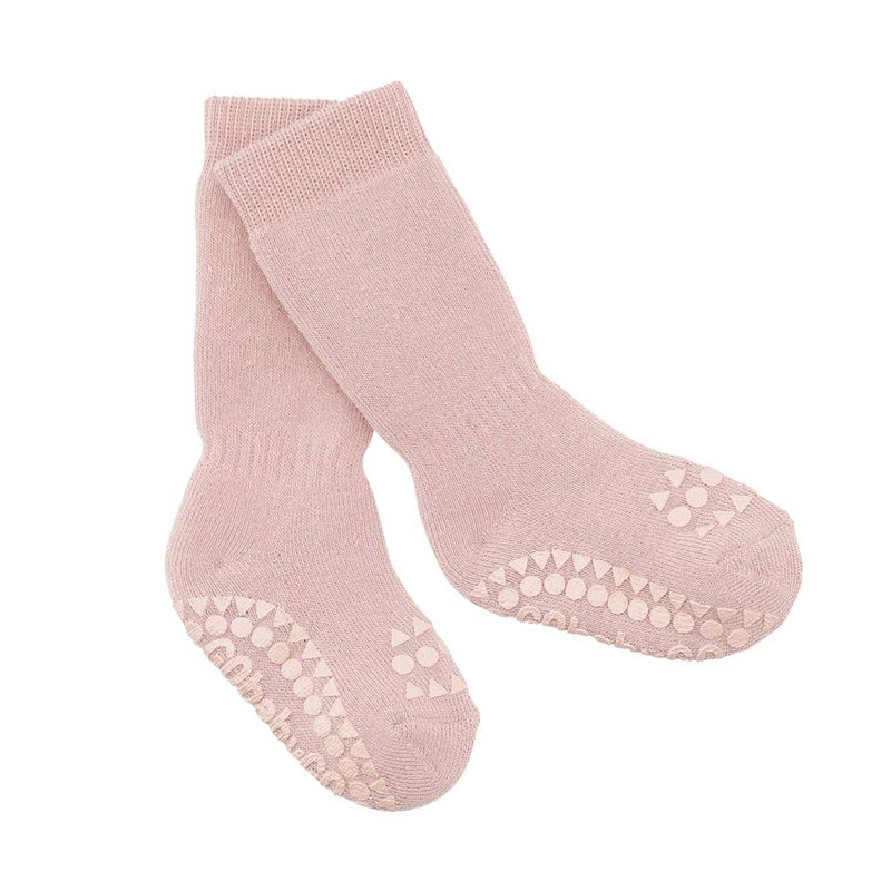 GOBABYGO Non-Slip Socks | Dusty Rose
