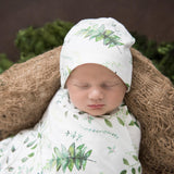 Snuggle Hunny Baby Jersey Wrap & Beanie Set - Enchanted