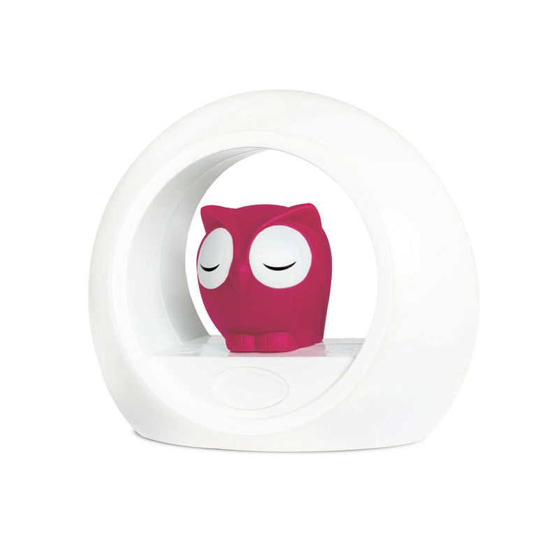 Lou the Owl Nightlight - Pink