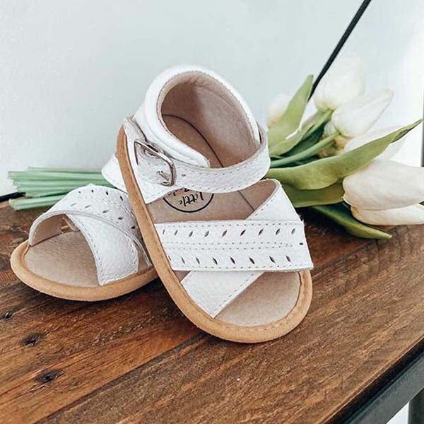 Deluxe Madison Sandal - White