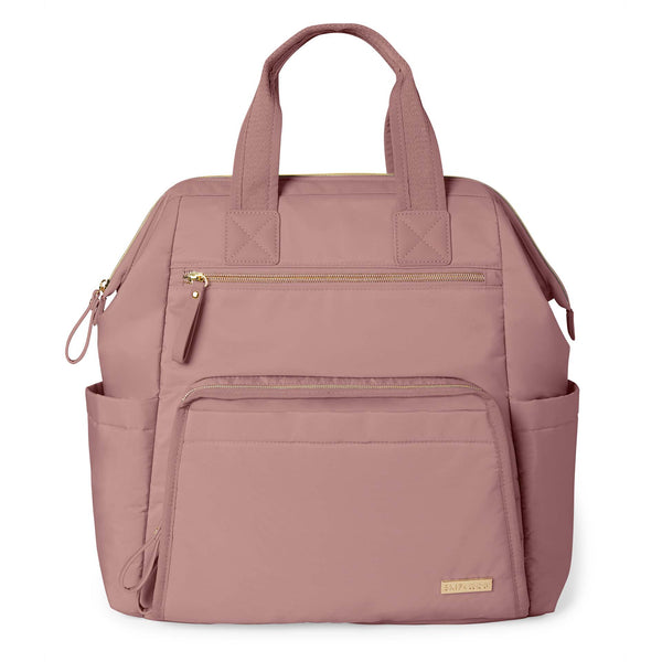 Skip Hop Main Frame Diaper Backpack - Dusty Rose
