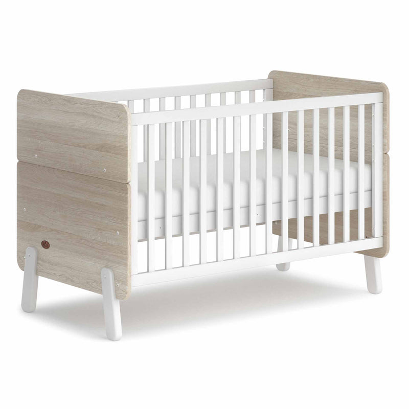 Boori Natty Cot Bed - Barley White & Oak