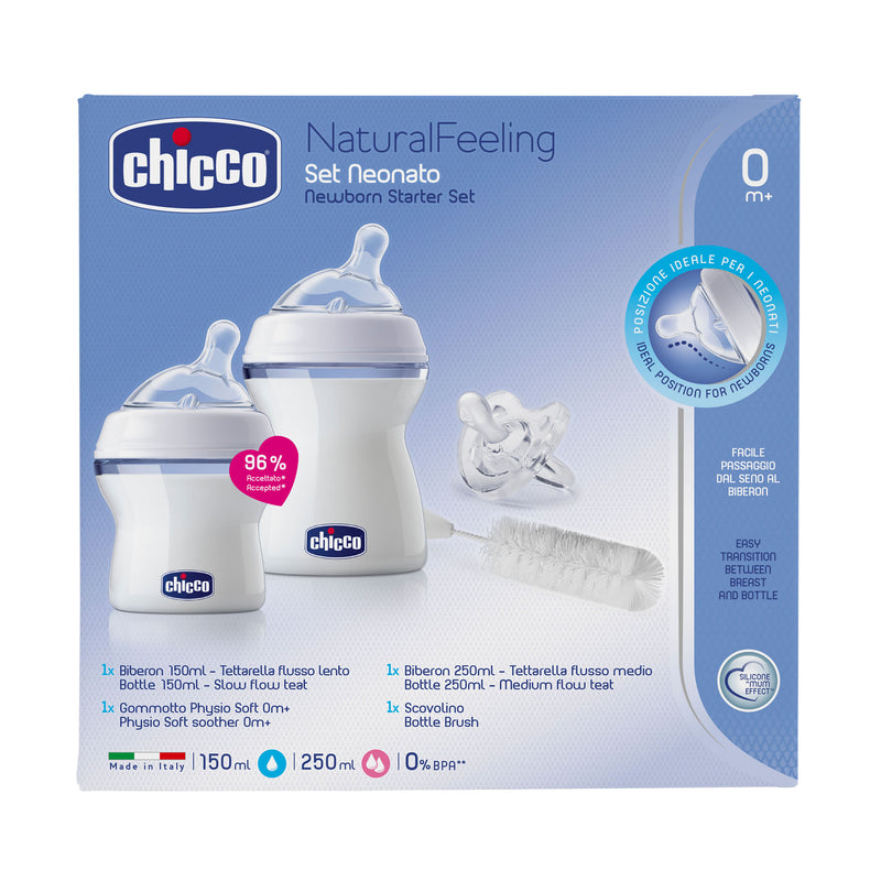Chicco Newborn Natural Feeling Bottle Starter Pack