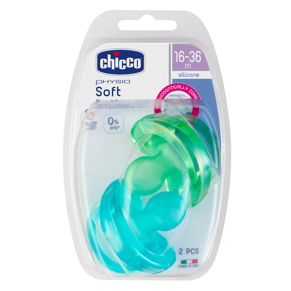 Chicco Soother - Physio SOFT 2pk (16-36mths)