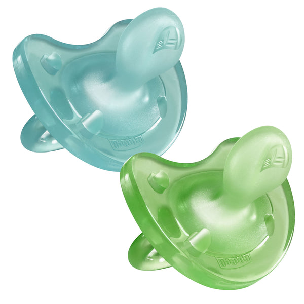 Chicco Soother - Physio SOFT 2pk (6-16mths)