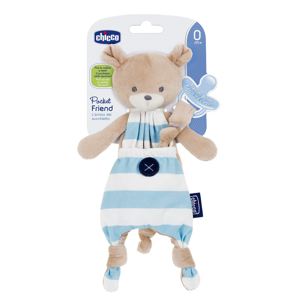 Chicco Soothing Accessory - Pocket Friend Blue