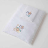 Safari Towel & Washer Set in Organza Bag