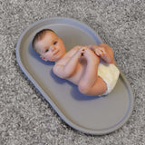 Shnuggle Squishy Changing Mat - Grey