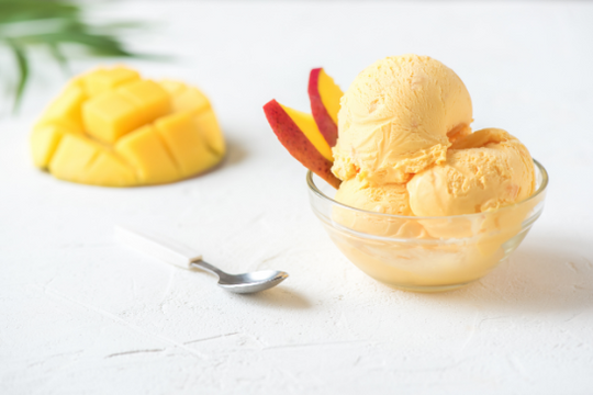 Mango Ice Cream or Sorbet