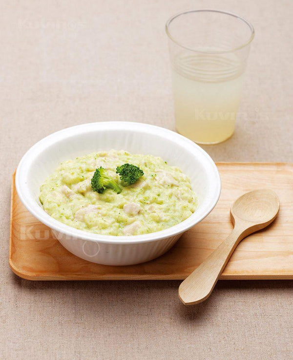 Broccoli Chicken Porridge-Kuvings