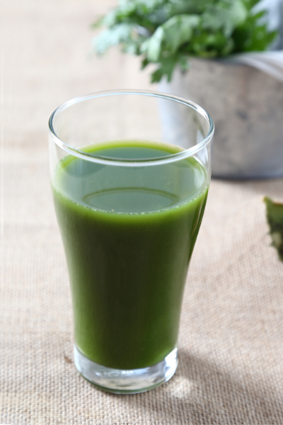 green spinach juice recipe