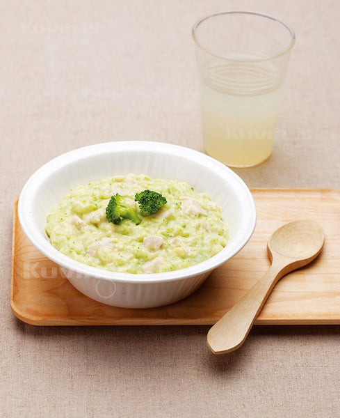 Broccoli Chicken Porridge