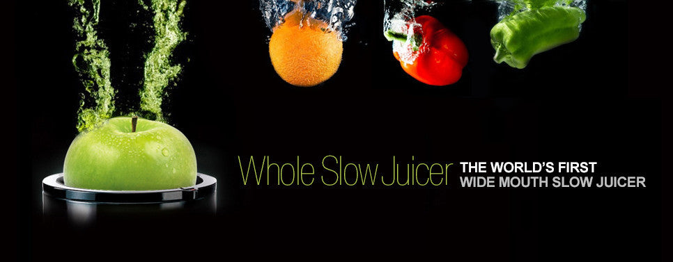 wide mouth whole slow juicer