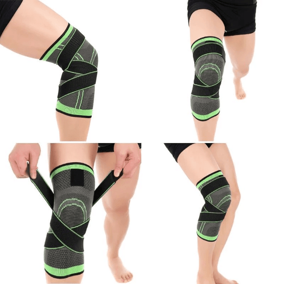 3D knee support: Provides stability during sports in the event of meniscus injury and joint problems - Michael Far - Deals on Products for All