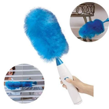 Duster action: electric dust duster with electrostatic fibers catch the dirt - Michael Far - Deals on Products for All