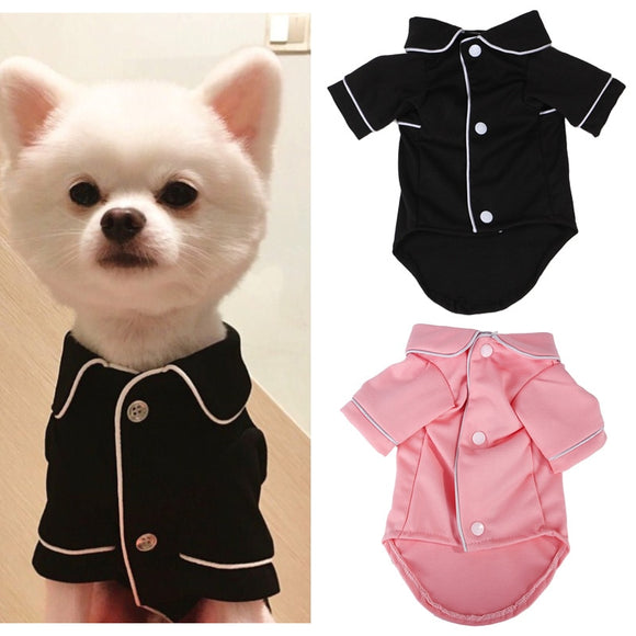 Dog Pajamas Winter Jumpsuit Shirt