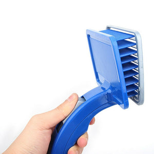 Open image in slideshow, Pet Hair Brush Self Cleaning Kitten Comb