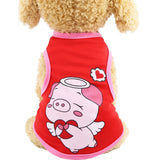 Dog Jumpsuit Soft Fleece Puppy Hoodie