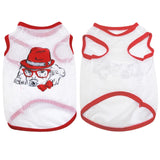 Dog Soft Summer Cartoon Vest T-Shirt
