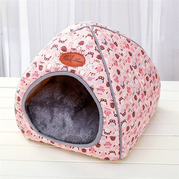 Dog Bed Mat Kennel Winter Warm Dog Puppy Sleeping House