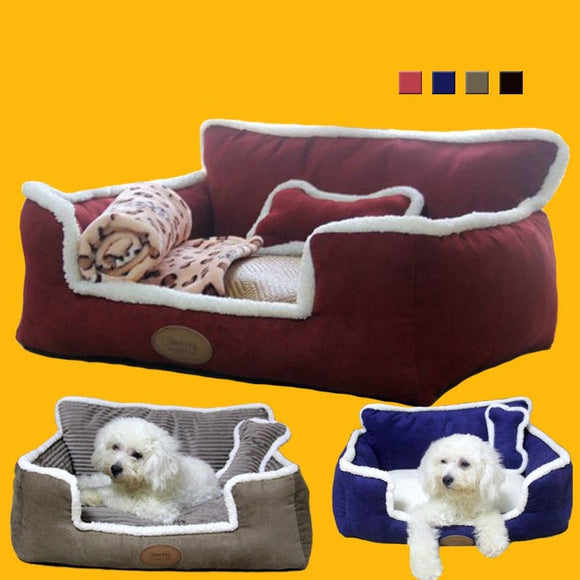 Pew Nest Detachable Washable Dog Kennel House Bed