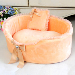 Open image in slideshow, Dog house mat nest Lace Send Pillows Fashionable And Elegant Design