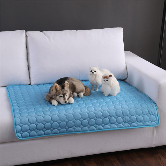 Portable Sleeping Cooling Mats Blanket Ice Bed For Dog