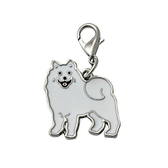 Doggy ID Enamel Collar Necklace Pendant