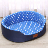 Sofa Kennel Soft Fleece Warm Dot Pattern Top Quality dog beds