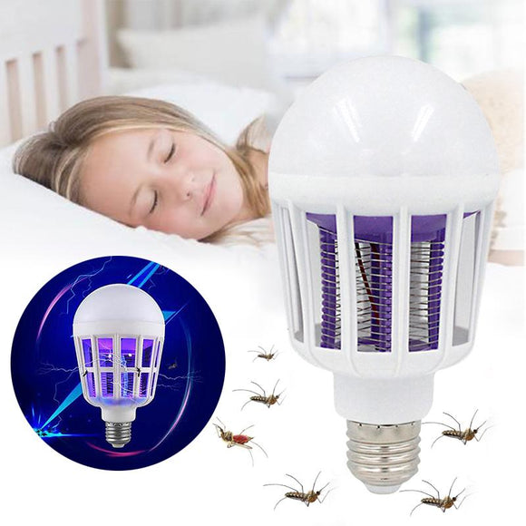 2 in 1 Light Zapper LED light Bulb Bug Mosquito Fly Insect Killer Bulb - Michael Far - Deals on Products for All