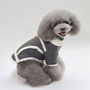 Dog Jacket Winter Warm Coat for Cold Weather