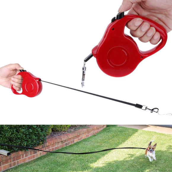 Auto Retractable Pet Leash Traction Rope Walking Lead Chain for Dogs